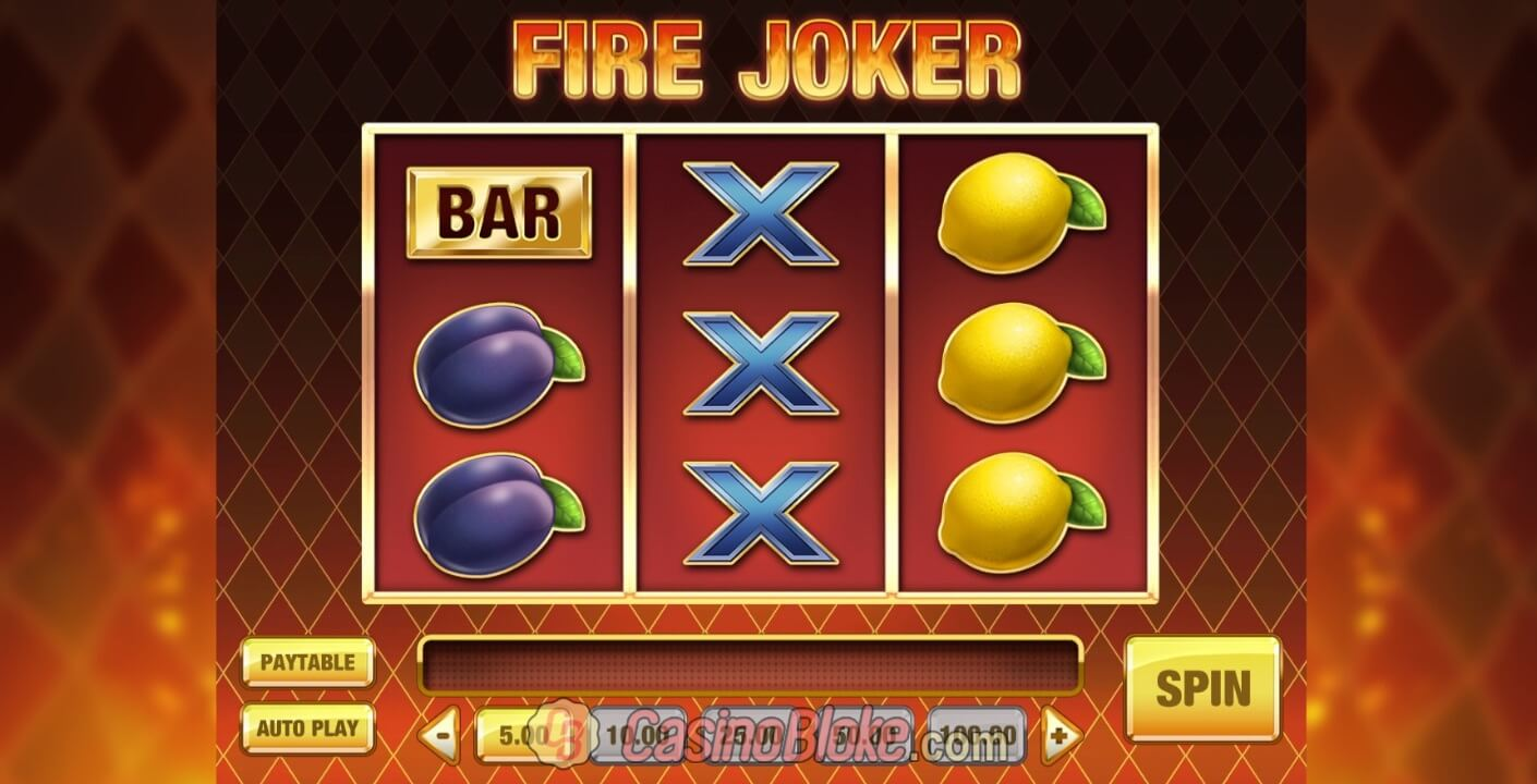 Fire Joker Slot thumbnail - 0