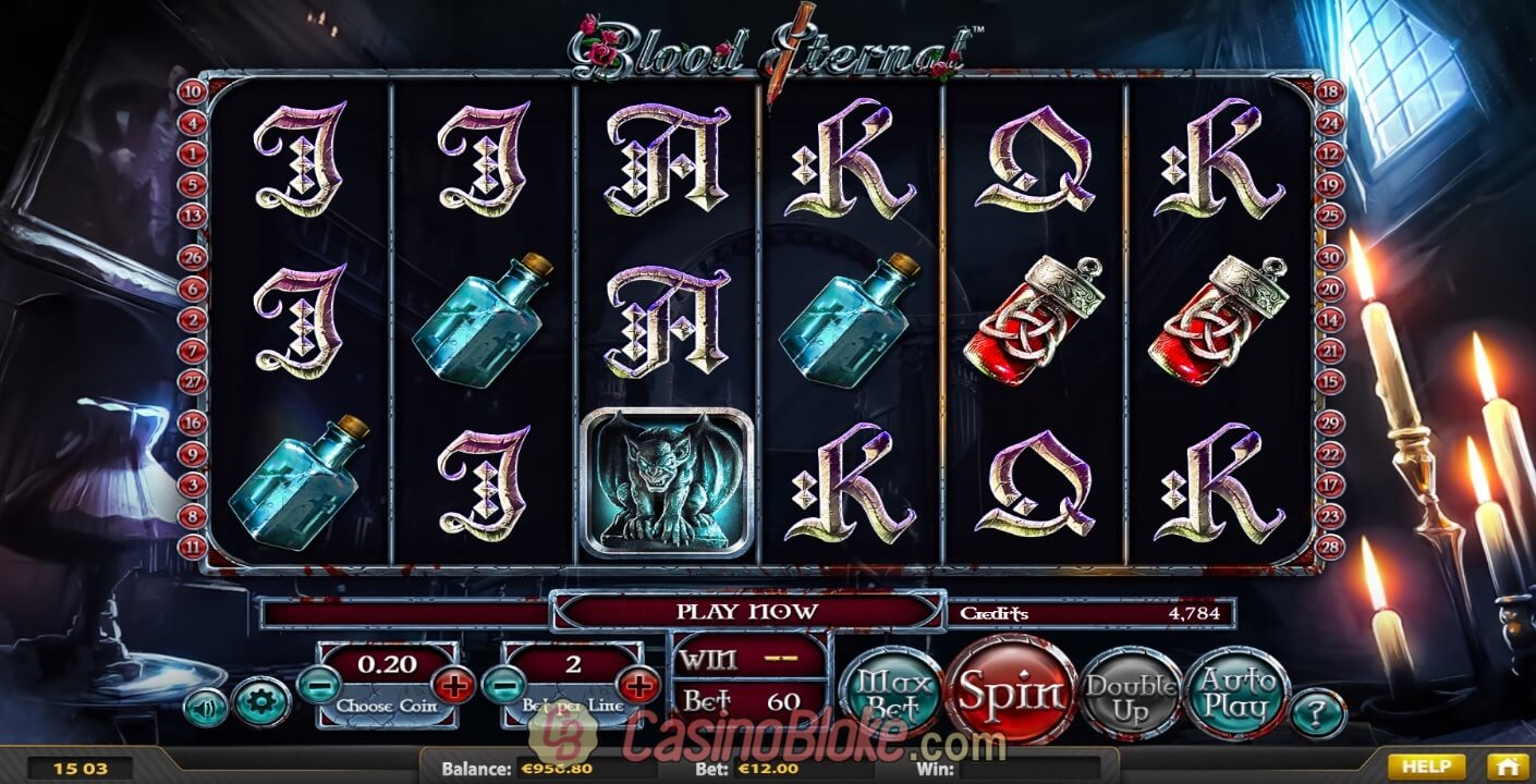 Blood Eternal Slot Screenshots