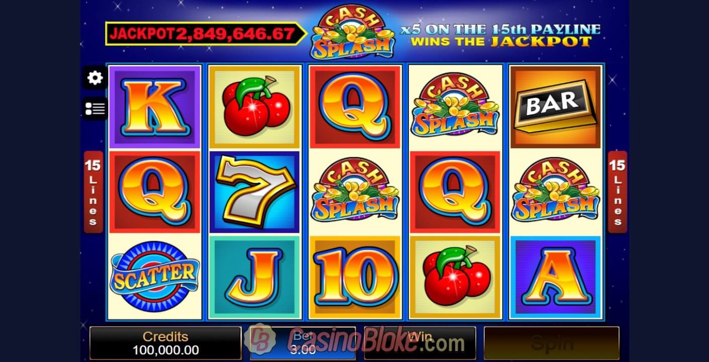 Cash Splash Slot thumbnail - 0