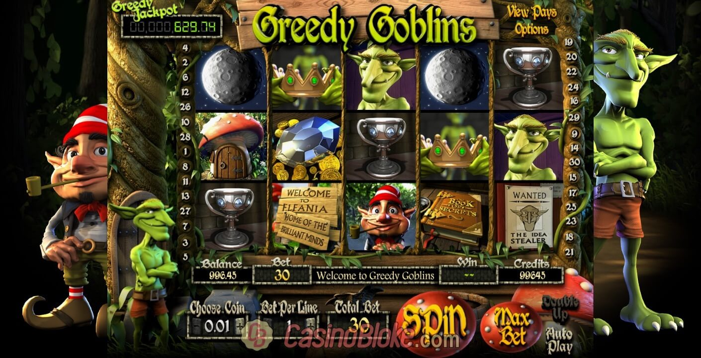 Greedy Goblins Slot Screenshots