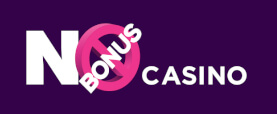 No Bonus Casino Logo Horizontal