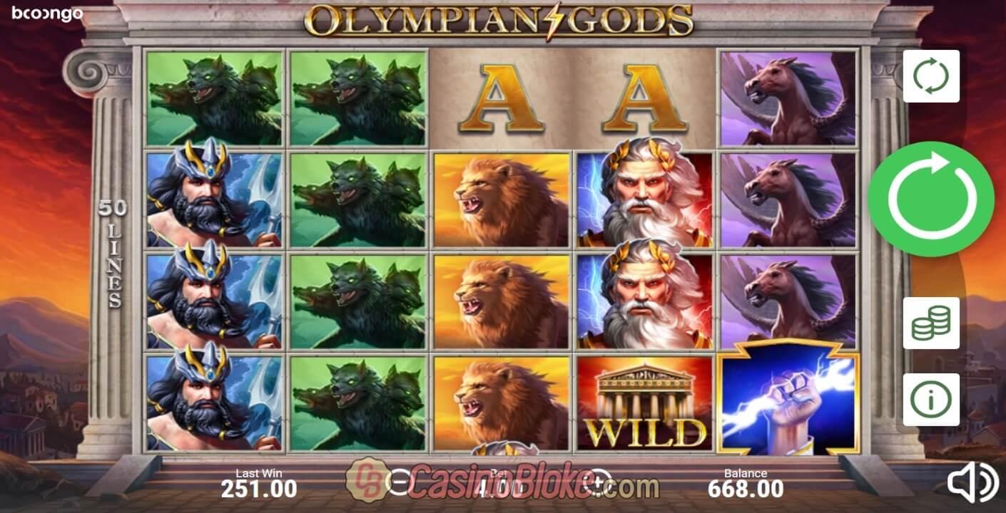 Olympian Gods Slot Machine