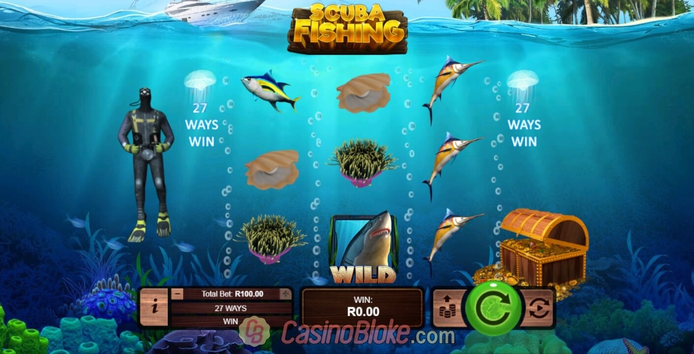 Scuba Fishing Slot Machine