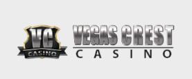 Vegas Crest Casino Logo Horizontal