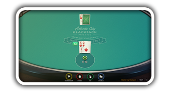 Atlantic City Blackjack from Microgaming