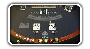 Blackjack Switch from Playtech