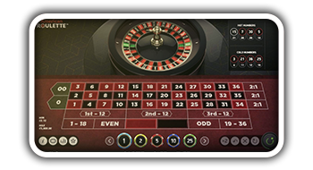 American Roulette Online from NetEent
