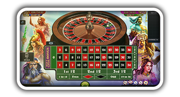Age of Gods Roulette from Playtech