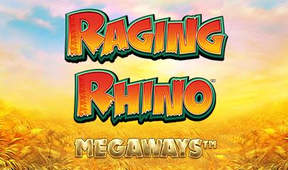Raging Rhino Megaways logo big