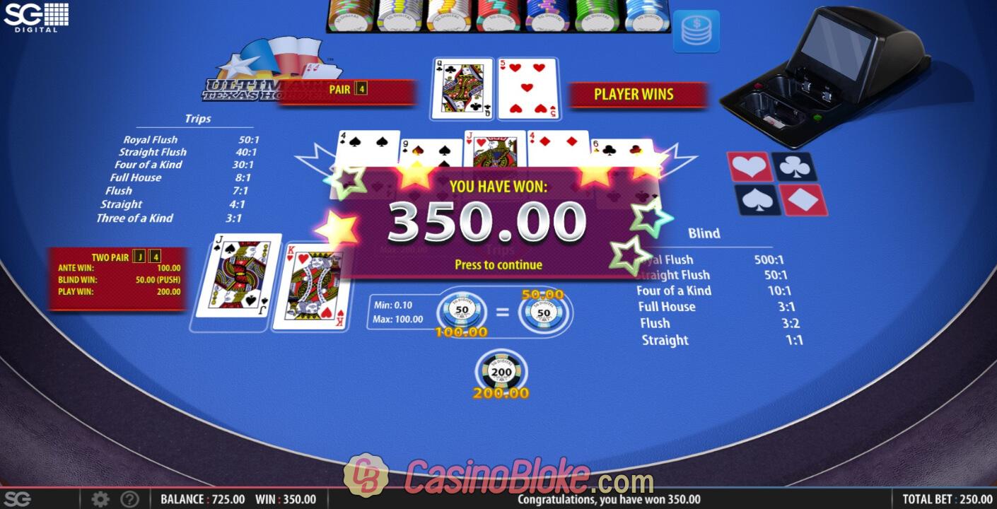 Casino Games Ultimate Texas Hold Em