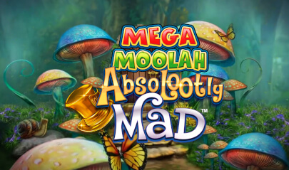 Absolootly Mad Mega Moolah Logo Big