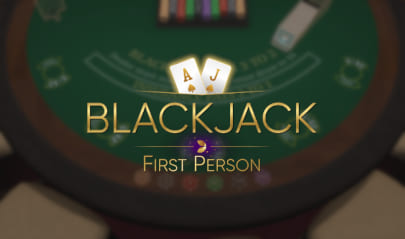 First Person Blackjack Logo Big