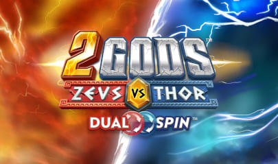 2Gods Zeus vs Thor Logo Big