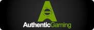 Authentic Gaming Logo Rectangle