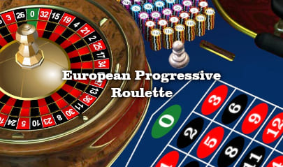 European Progressive Roulette Logo Big