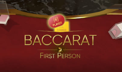 First Person Baccarat Logo Big