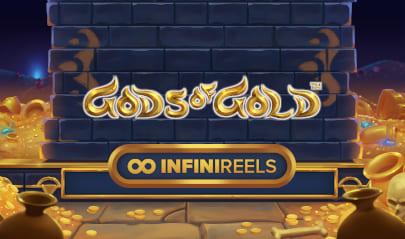 Gods of Gold: InfiniReels Logo Big