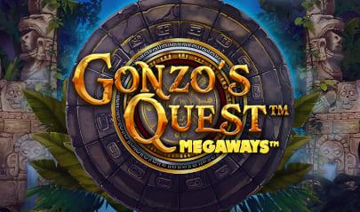 Gonzo's Quest Megaways Logo Big