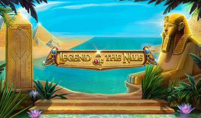 Legend of the Nile Logo Big