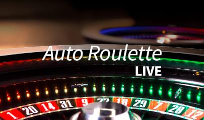 Live Auto Roulette Logo Big