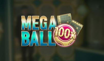 Live Mega Ball Logo Big