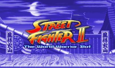 Street Fighter II The World Warrior Logo Big