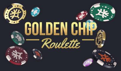 Golden Chip Roulette Logo Big