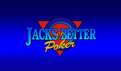 Jacks or Better Poker Logo Big