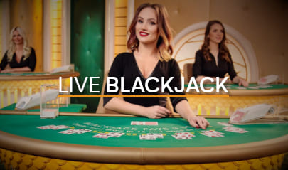 Pragmatic Play Live Blackjack Logo Big