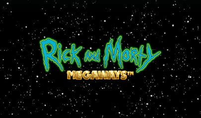 Rick and Morty Megaways Logo Big