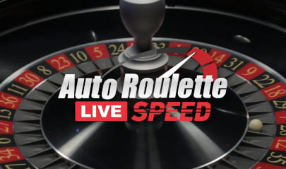 Auto Roulette Live Speed Logo Big