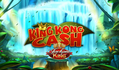 King Kong Cash Jackpot King Logo Big