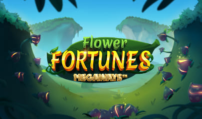 Flower Fortunes Megaways Logo Big