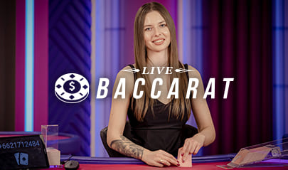 Live Baccarat logo big