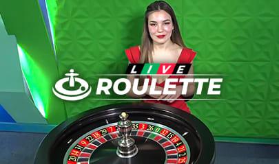 Live European Roulette logo big