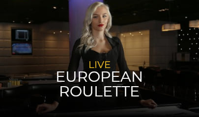 VIVO Gaming Live European Roulette Logo Big
