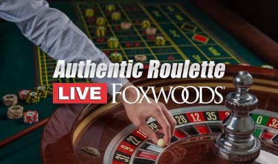 Foxwoods Casino Roulette logo big