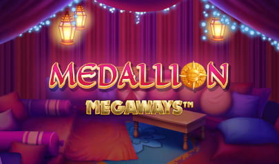 Medallion Megaways slot logo big