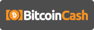 Bitcoin Cash logo rectangle