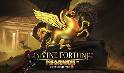 Divine Fortune Megaways logo big
