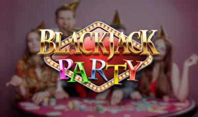 Evolution Blackjack Party logo big