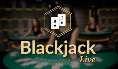 Evolution Live Blackjack logo big