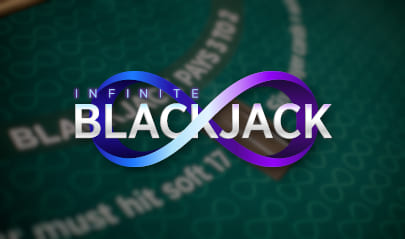 Evolution Live Infinite Blackjack logo big