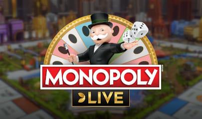 Evolution Monopoly Live logo big