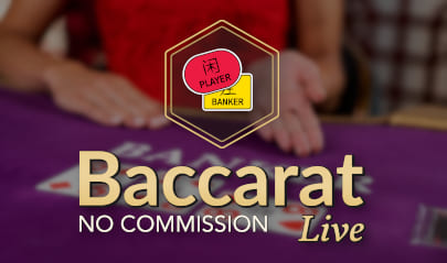 Evolution No Commission Baccarat logo big