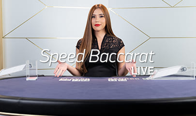 NetEnt Speed Baccarat logo big