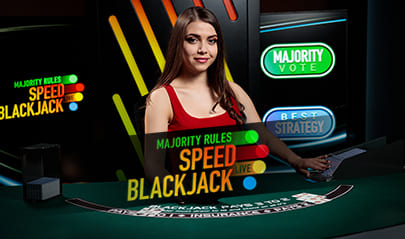 Majority Rules Speed Blackjack logo big