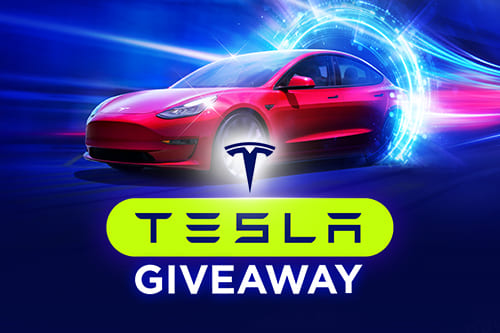 Spin Your Way To a Brand New Tesla at Bitstarz
