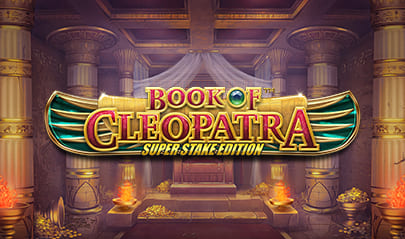 Book of Cleopatra Super Stake Edition logo big