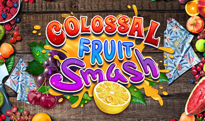 Colossal Fruit Smash logo big